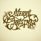καλά χριστούγεννα γράμματα — Διανυσματικό Αρχείο