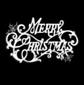 Noel kartı. — Stok Vektör