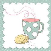 Nice Cup of Tea — Stock Vector