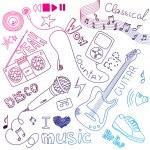 Music Doodles — Stock Vector #34800761