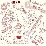 Music Doodles — Stock Vector #34800771
