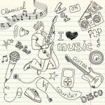Music Doodles — Stock Vector #34800775