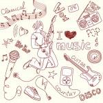 Music Doodles — Stock Vector #34800781