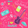 Music Doodles — Stock Vector #34800801