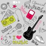 Music Doodles — Stock Vector #34800809