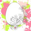 Stock Vector: Easter Background