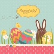 Easter Background — Vector de stock #34801581