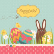 Easter Background — Stock Vector #34801581