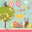 Stock Vector: Easter Extravaganza