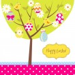 Retro Easter card — Stock Vector #34801655