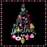 Merry Christmas tree — Stock Vector #34802069