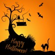 Vector de stock : Halloween Background