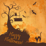 Halloween grunge — Stock vektor