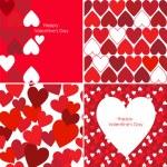 Valentines pattern — Stock Vector