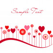 Stockvector : Valentine background