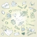 Valentine Doodles — Stock Vector #35399025