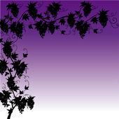 Grape leaf — Stock Vector