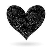 Hjärtat-shap — Stockvektor