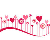 Valentine background — Vecteur