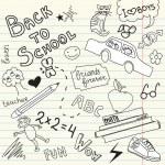 School sketc — Stock Vector #35407155