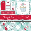 Scrapbooking element — Image vectorielle