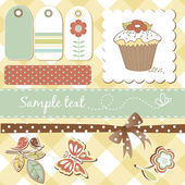 Scrapbooking elements — Vettoriale Stock