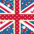 British Flag — Stockvektor