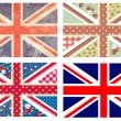 British Flags — Stockvectorbeeld
