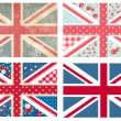 British Flags — Stock Vector #35500911