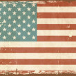 American Flag — Stockvectorbeeld