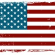 Vintage American flag — Stock Vector #35500935
