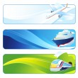 Travel banners — Stock Vector #35501815