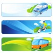 Stock Vector: Travel banners