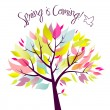 Spring is coming! — Stock Vector