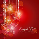Christmas Strars background — Stock Vector