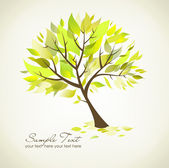 Beautiful Tree — Vetorial Stock