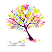 Beautiful Tree — Vector de stock