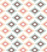 Pattern in aztec style — Vector de stock