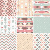 Pattern in aztec style — Stock Vector