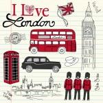 London doodles — Stock Vector #35926671