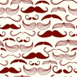 Mustache seamless pattern — Stock Vector #35927155