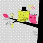 Romantic Wedding Card — Stock Vector