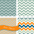 Retro Zig zag patterns — Stock Vector #35927809