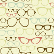 Retro Seamless spectacles — Stock Vector #35928203