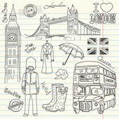 лондонские болваны — Cтоковый вектор