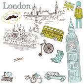 London doodles — Wektor stockowy