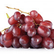 Cluster of red grapes - Stock Photo