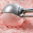 Strawberry ice cream — Stock Photo