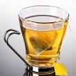 Cup of tewith teabag — Stock Photo #19733029