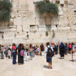 Wailing wall in jerusalem — 图库照片